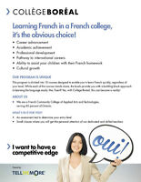 French as a Second Language with Boréal!