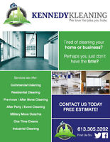 Kennedy Kleaning- Commercial/Residential/Industrial- Hire Local