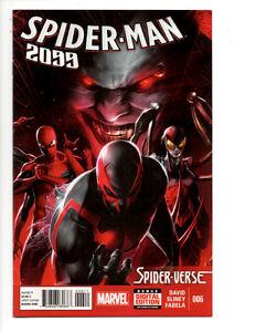 SPIDER-MAN 2099 #6,7,8 (2015) SPIDER-VERSE PETER DAVID