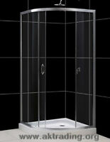 Quality showers with tray included in the price.  Top quality s
