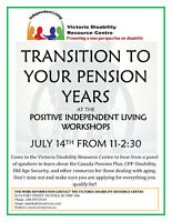 Transition to Your Pension and Financial Planning Workshop