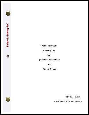 Pulp Fiction - THE MOVIE SCRIPT / SCREENPLAY