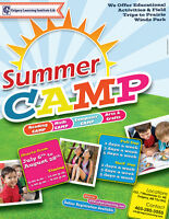 EDUCATIONAL SUMMER CAMPS FOR AGES 5 - 12 YEARS