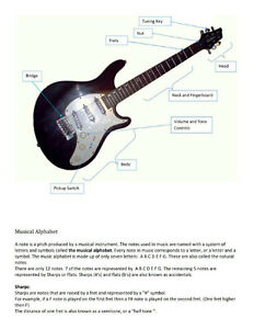 Guitar Lessons! Kitchener / Waterloo Kitchener Area image 3
