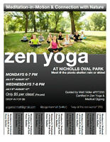 Zen Yoga in the Park...only $5!