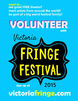 Fringe Festival Needs Volunteers!