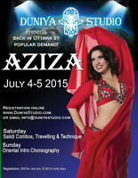 Special Belly Dance Workshop with guest star Aziza