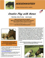 Creative Play with Horses