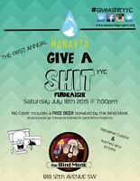 Talent Wanted: #GiveAShit Fundraiser for Sanitation in Nepal