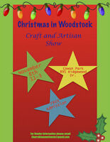 Woodstock Christmas Craft Show - vendor applications available