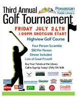 Powassan Library Golf Tournament