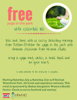 Yoga in the Park-Free Community Event