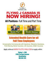 Flying J Shell in Headingley is hiring for overnights cashiers