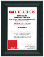 ROAM Gallery Call to Artists