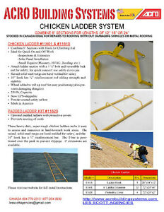 Ladders for sloped roofing with Ladder hook wheel scaffolding