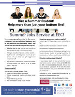 Summer Jobs Service! Employers and Students needed!