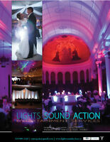 WATER'S EDGE EVENT CENTRE WEDDING UPLIGHTING DJ SERVICES