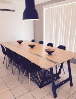 trestle table, shabby chic, rustic, farm yard, modern Marrickville Marrickville Area Preview