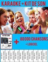 Karaoke + mp3 + Cdg + kit de son + ressources pour dj