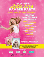The Ultimate Little Diva Pamper Party