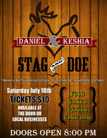 STAG & DOE - ALL WELCOME!