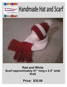 Crochet and Knit Hats and Scarves