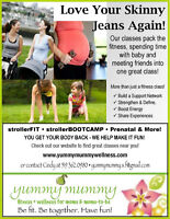 Mom and Baby Fitness, Stroller Fit, Pre-natal & More!