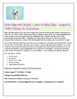 Intro to Baby Sign