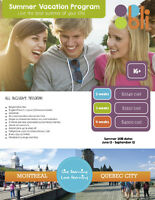 Summer Language Programs for Youths in Quebec!