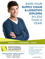 Earn your SUPPLY CHAIN MANAGEMENT DIPLOMA in 10 MONTHS!
