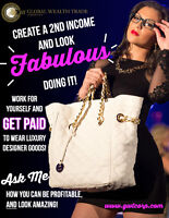 create a 2nd income and look fabulous doing it!