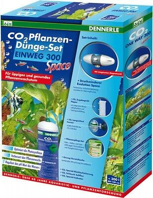 2 Pflanzen (CO2 Pflanzen-Dünge-Set Einweg 300 Space)