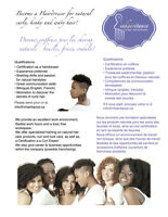 Coiffeuse / Hairdresser