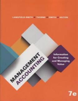 Solution Manual for Management Accounting 7E by Langfield-Smith