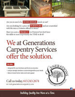Generations Carpentry Services