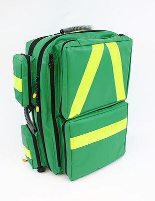 KITTED EMT  BACKPACK , FIRST AID, DOCTOR, FIRST RESPONDER, FIRST AID, EMERGENCY