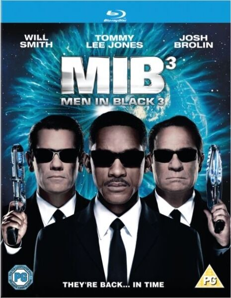 MEN IN BLACK 3*****BLU RAY******REGION B*****NEW & SEALED