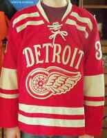 Jersey de Jimmy Howard des Red Wings de Détroit