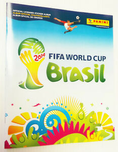 FIFA WORLD CUP SOCCER STICKER ALBUMS 2014