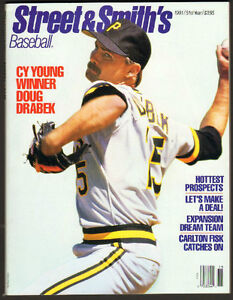 1991 Street and Smith's Baseball Yearbook Doug Drabek cover