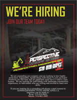 HIRING! FULL-TIME, LANDSCAPE CONSTRUCTION, DRIVERS LICENSE REQ.