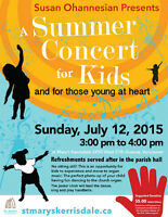 A Summer Concert for Kids