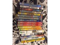 Huge collection of pokemon dvds