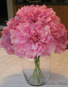 Coffee Filter Peony Bouquet/Paper Flowers/ Spring Bouquet