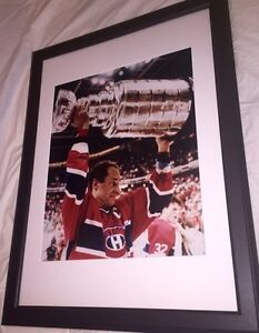 Bob Gainey Autographed Montreal Canadiens 16x20 Framed