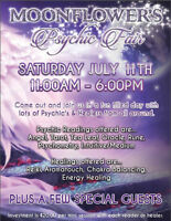 Psychic Fair at Moonflower's Metaphysical Store & Healing Center
