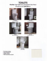 """TOILETS - """"NEW"""" High Efficiency One Piece"""