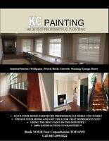 KCPAINTING Starting@$100/ROOM