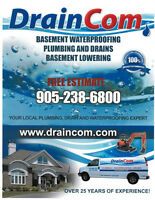 Plumbing, Drains, Waterproofing, Underpinning & Sewer Experts!!!