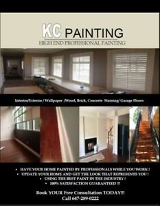 KCPainting Starting @$100/ROOM!